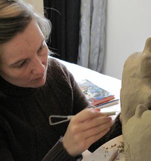 O prazer de esculpir