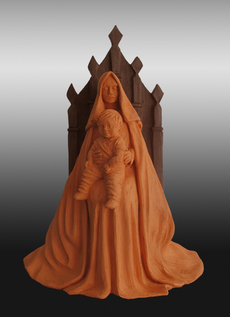 Virgem no trono 2